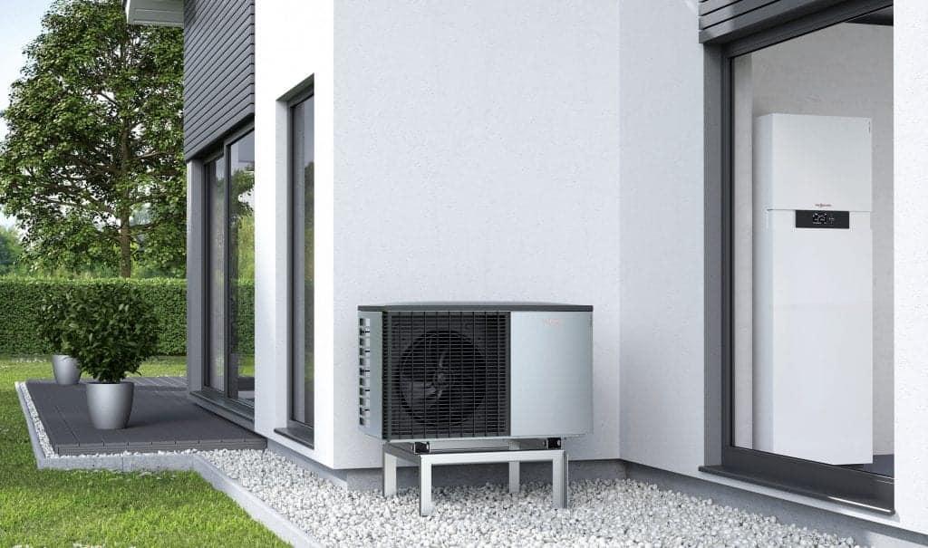 toplotna črpalka ima več prednosti